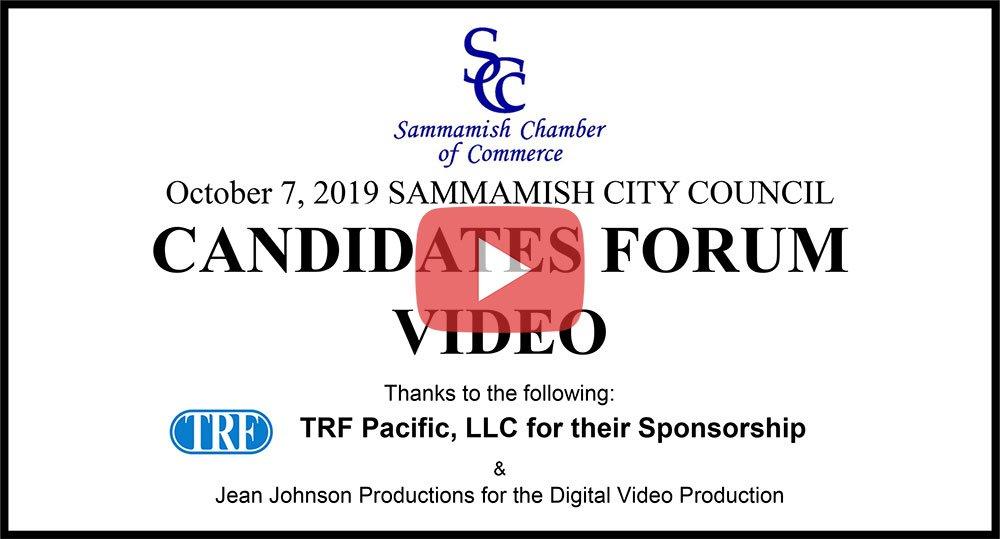 2019 Candidates Forum Video